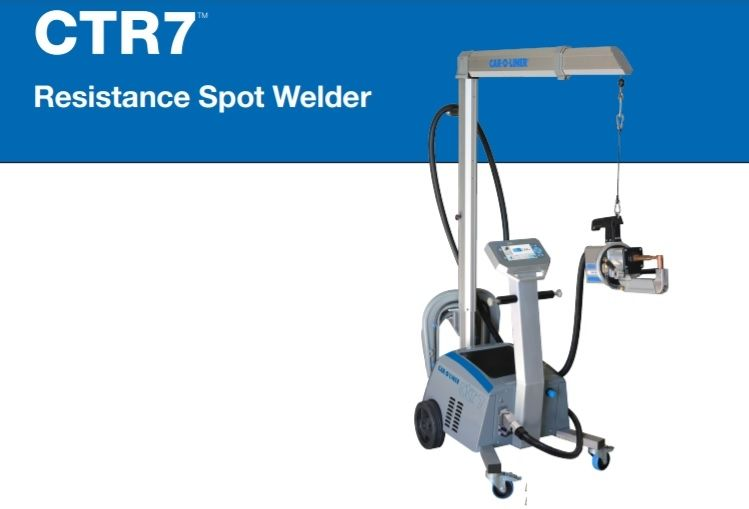 Car-O-Liner CTR7 spot welder offers software upgrade