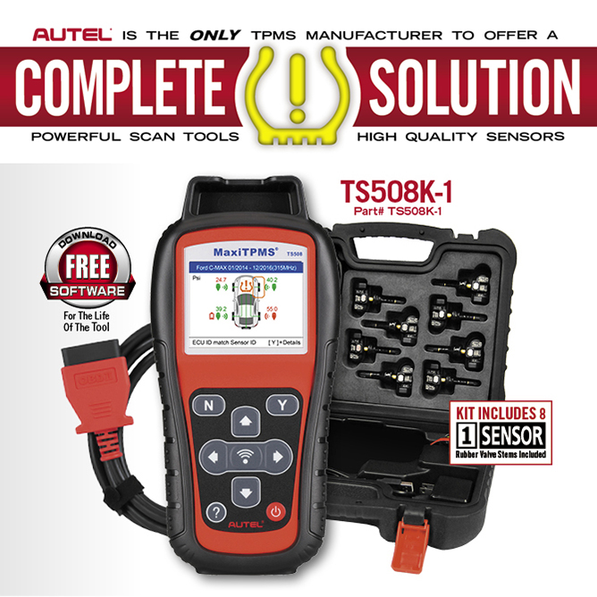VIDEO: Autel TPMS Diagnostic Tools at SEMA Global Tire Expo TIA Tire Industry Association