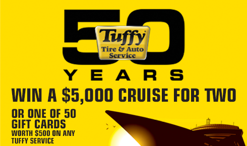 Tuffy celebrates 50th anniversary with sweepstakes