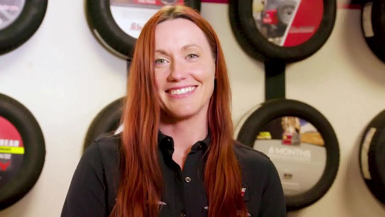 Tire Pros shop owner Whitney Moore